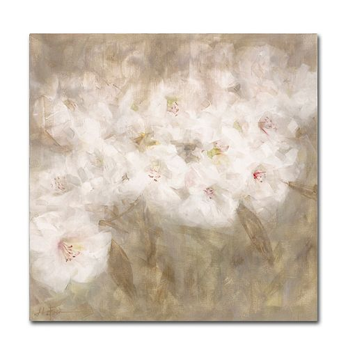 Trademark Fine Art Wild Flowers I Canvas Wall Art