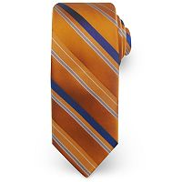 Big & Tall Haggar Extra-Long Striped Microfiber Tie