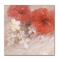 Trademark Fine Art Hibiscus II Canvas Wall Art