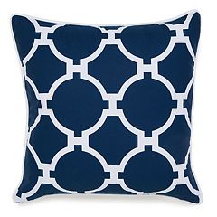 Jill Rosenwald Copley Hampton Links Embroidered Throw Pillow