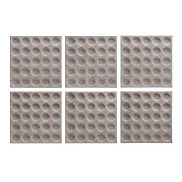 Rogero Squares Wall Art 6-piece Set