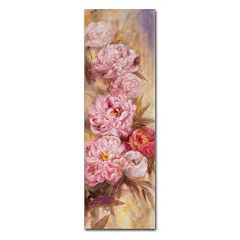 Trademark Fine Art Peonies I Canvas Wall Art