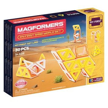 Magformers 30-pc. My First Sand World Set