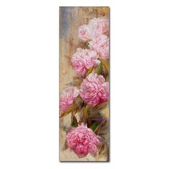 Trademark Fine Art Peonies II Canvas Wall Art
