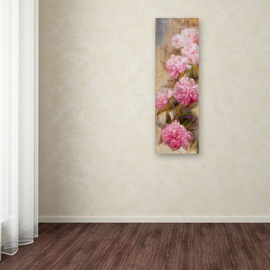 Trademark Fine Art Peonies II Canvas Wall Art