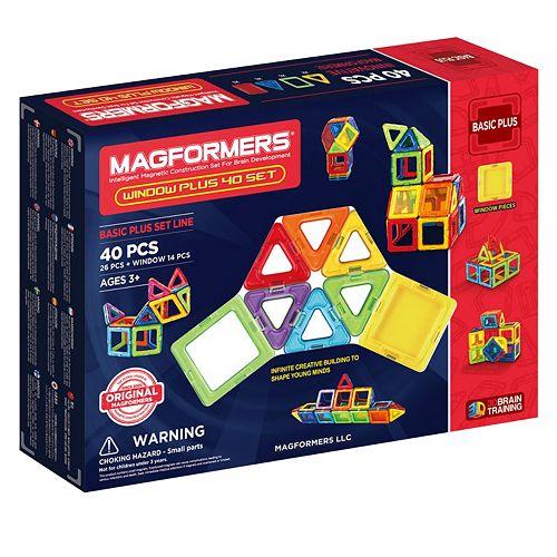 Magformers 40-pc. Window Plus Set