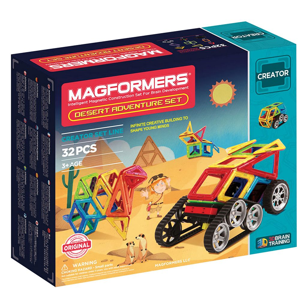 Magformers 32-pc. Adventure Desert Set