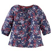 Girls 4-8 OshKosh B'gosh® Flowy Floral Long Sleeve Fashion Top
