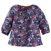 Girls 4-8 OshKosh B'gosh® Flowy Floral Long Sleeve Fashion Top