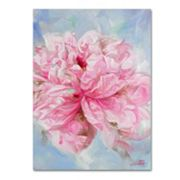 Trademark Fine Art Pink Peonie II Canvas Wall Art