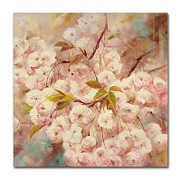 Trademark Fine Art Rose Bush I Canvas Wall Art