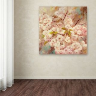 Trademark Fine Art Rose Bush I Canvas Wall Art