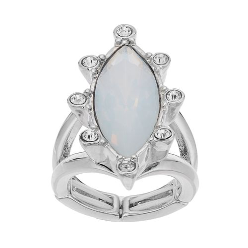 Jennifer Lopez Marquise Stretch Ring