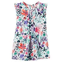 Girls 4-8 OshKosh B'gosh® Floral Poplin Swing Dress