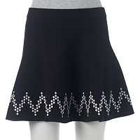 Juniors' Candie's® Chevron Sweater Skirt