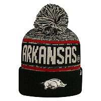 Adult Top of the World Arkansas Razorbacks Heezy Skate Hat