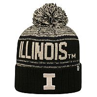 Adult Top of the World Illinois Fighting Illini Heezy Skate Hat