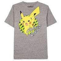 Boys 8-20 Pokemon Charged Up Tee