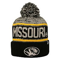 Adult Top of the World Missouri Tigers Heezy Skate Hat