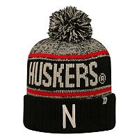 Adult Top of the World Nebraska Cornhuskers Heezy Skate Hat