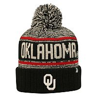 Adult Top of the World Oklahoma Sooners Heezy Skate Hat