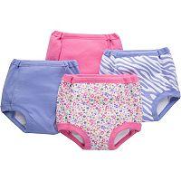 Toddler Girl Jockey 4 pkPink & Purple Pattern Potty Training Pants