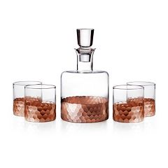 Fitz & Floyd 5 pc Daphne Decanter Set