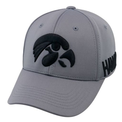 Adult Top of the World Iowa Hawkeyes Bolster One-Fit Cap