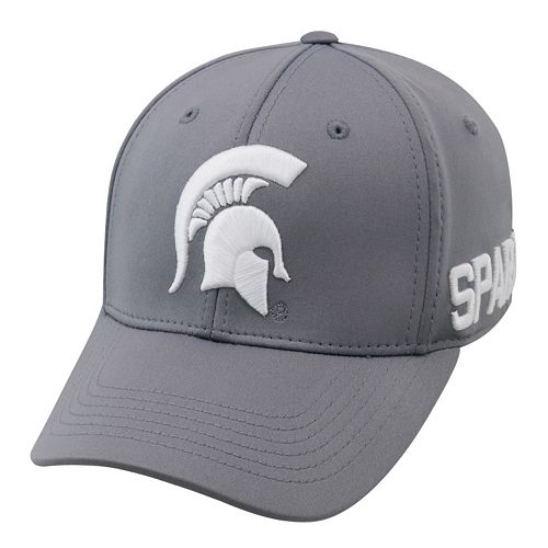 Adult Top of the World Michigan State Spartans Bolster One-Fit Cap