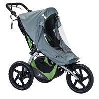 BOB 2016 Fixed Wheel Single Stroller Weather Shield