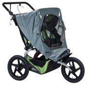 BOB 2016 Fixed Wheel Duallie Stroller Weather Shield