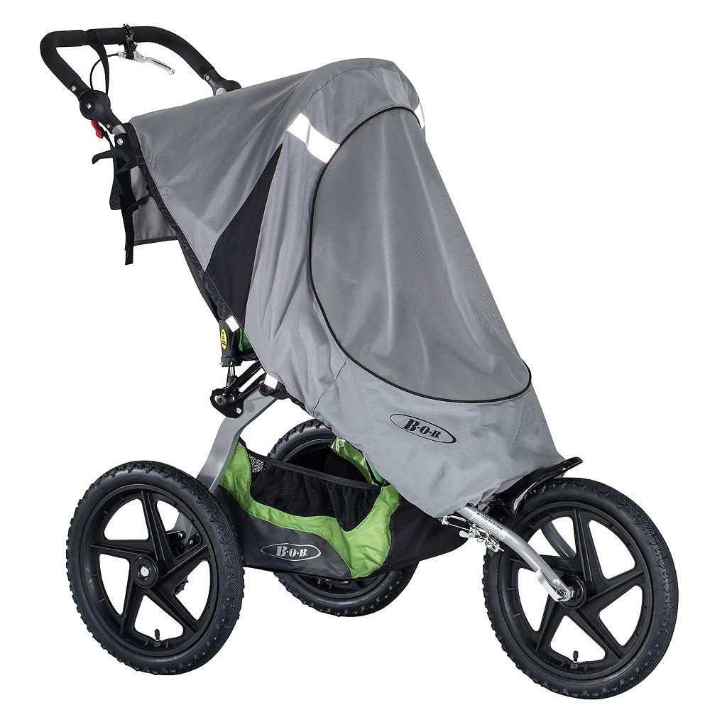 BOB 2016 Fixed Wheel Single Stroller Sun Shield