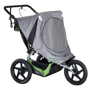 BOB 2016 Fixed Wheel Duallie Stroller Sun Shield