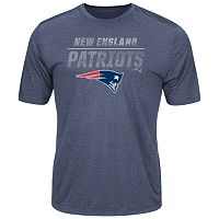 Men's Majestic New England Patriots All the Way Tee