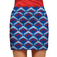 Women's Loudmouth Golf Lounge Geo Skort