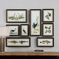 Seashore Framed Wall Art 8-piece Set