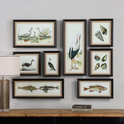 Seashore Framed Wall Art 8-piece Set