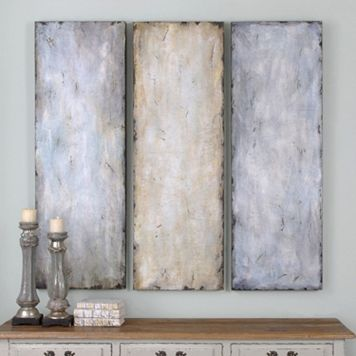Textured Trio Wall Art 3-piece Set