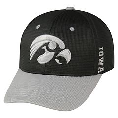 Adult Top of the World Iowa Hawkeyes Booster Plus One-Fit Cap