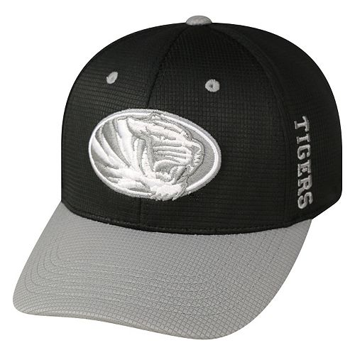Adult Top of the World Missouri Tigers Booster Plus One-Fit Cap