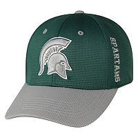 Adult Top of the World Michigan State Spartans Booster Plus One-Fit Cap