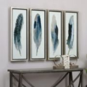 Feathered Beauty Framed Wall Art 4-piece Set