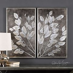 Money Tree Framed Wall Art 2-piece Set