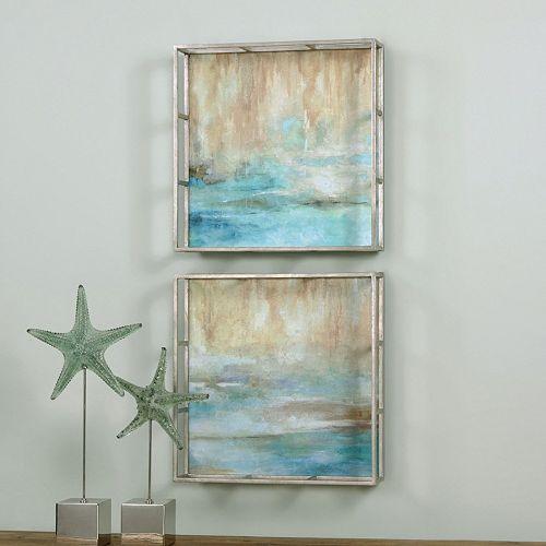 Through The Mist Framed Wall Art 2-piece Set