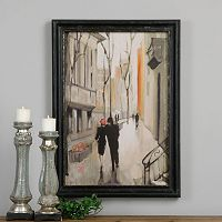 Village Promenade Framed Wall Art