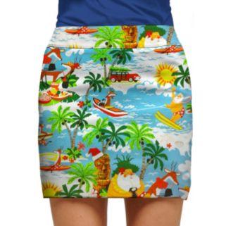 Women's Loudmouth Golf Palm Tree Skort