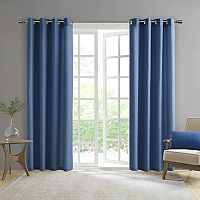 Madison Park Mission Solid Outdoor Curtain