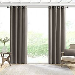 Madison Park 1-Panel Mission Solid Outdoor Curtain