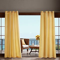 Madison Park Mission 3M Scotchgard Outdoor Window Curtain