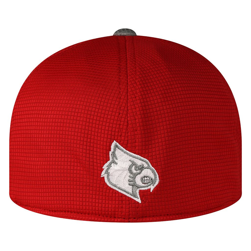 Adult Top of the World Louisville Cardinals Booster Plus One-Fit Cap